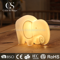 Lovely elephant night light animal shaped lamp for sale