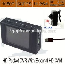 Good quality 720p 60fps TF card hd mini dvr kit