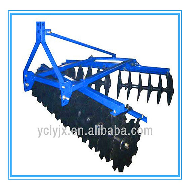 24 blades three point mounted medium disc harrow for sale