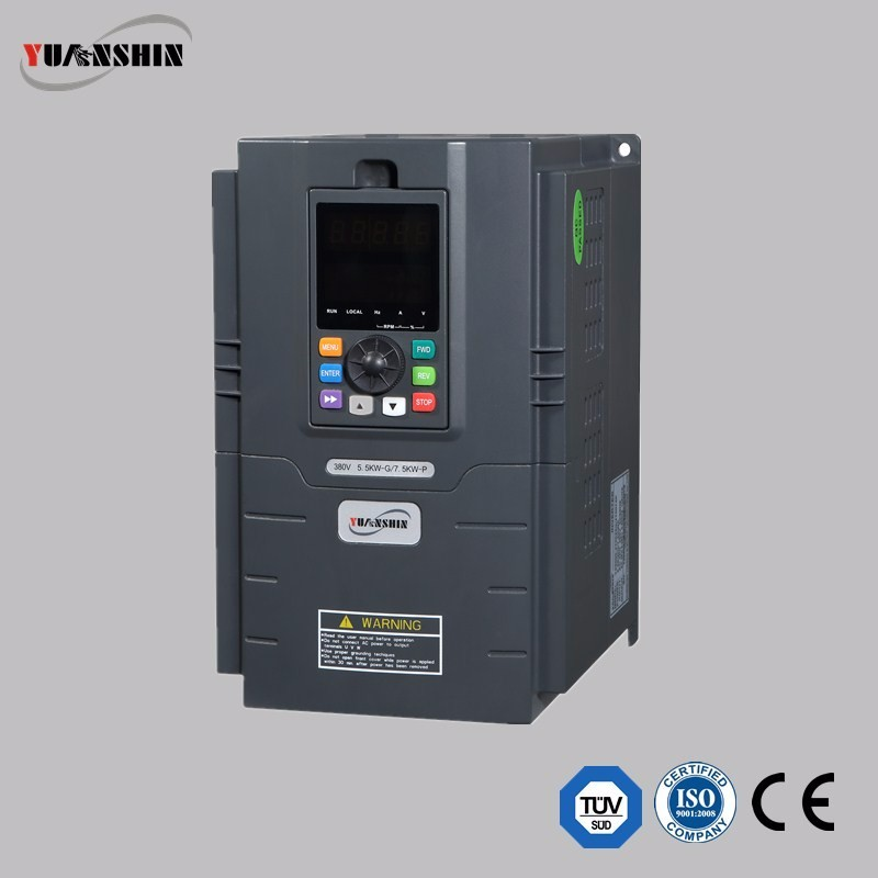 Vector Control Variable Frequency ac Drive/VFD/VSD 60hz 50HZ 0.75kw 1.5kw 2.2kw 4kw 220v single phase input & 3 phase output
