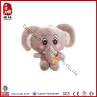 China manufacture cute soft toy for baby plush stuffed cartoon characters elephant