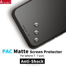 Easy to install factory bulk anti-scratch touch screen PAC film for iphone 7 / 6 plus matte screen protector