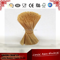 2015 wholesale bamboo raw material sticks 1.3mm 8'' & 9'' bamboo sticks for incense