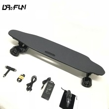 Dual Drive Booster Electric Longboard skateboard with top speed 45km/h