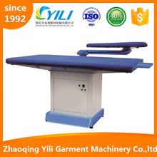 square electric steam ironing board press ,electric heating buck arm steam generator vacuum blowing function