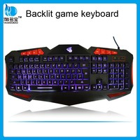 Top grade wired gaming usb led backlight keyboard