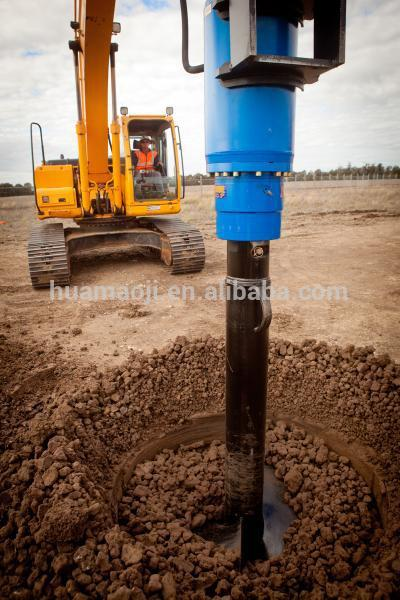 New design hydraulic earth auger ground anchors drill rotary head for sale with certificate