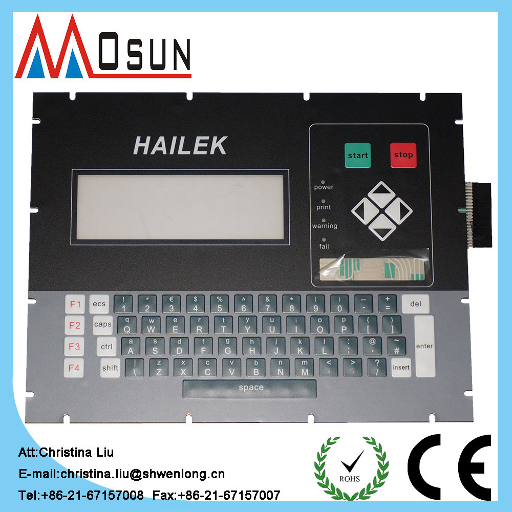 waterproof membrane switch China generator transfer switch panel
