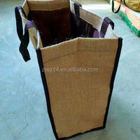 cheap custom jute bags for packing wheat