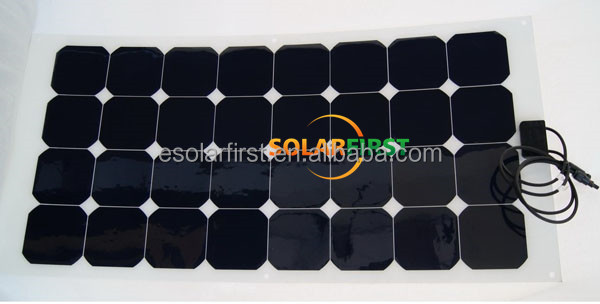 Semi flexible SOLAR PANELS best price in China sunpower solar module