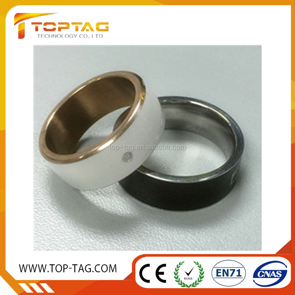 Smart jewelry NFC ring for Android mobile phone