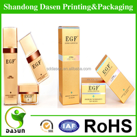 Factory supply paper cosmetic gift set packaging box