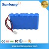 Rechargeable lithium ion 18650 6S1P 2000mah 22.2v battery pack for Backup power supply