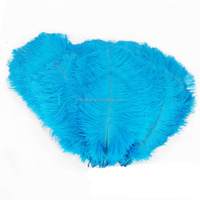 35-40cm Ostrich feathers for wedding/party/headdress/mask decoration