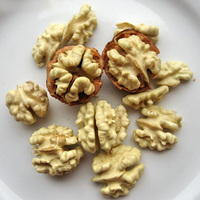 dryfruit walnuts with thin shell, walnut meat, snacks in stock