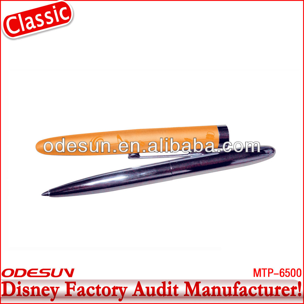 Disney factory audit manufacturer's metal promotional ball pen 142192
