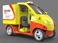 low speed small electric carriage trucks for sale EEC
