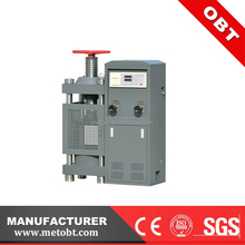 Free Samples 300kn concrete cube compression testing machine for sale