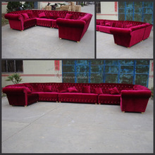 night club sofa/leather club sofa/luxury exclusive sofas