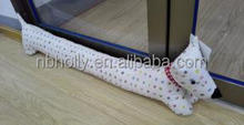 Draught excluder dog shape wind door stopper