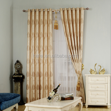 Middle East design jacquard blackout curtain for living room hotel
