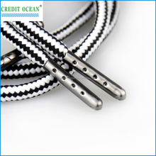 Credit Ocean custom Crimp Metal Aglet For Shoelace