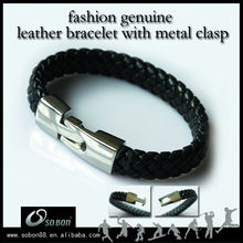 latest leather bracelet design one direction product in china market