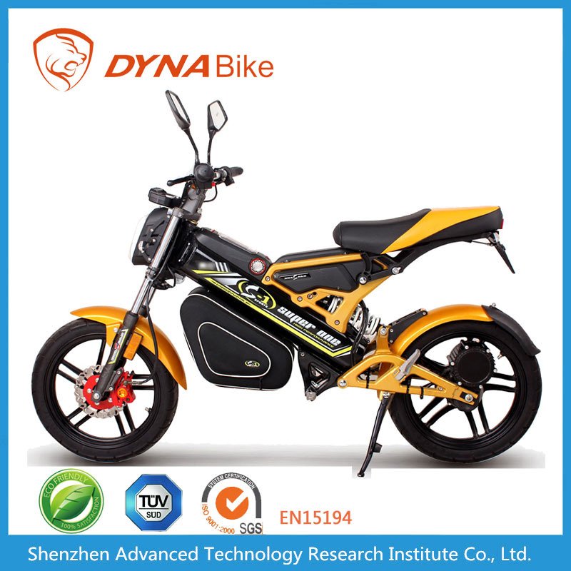 DYNABike Best Selling DC Brushless Motorized Folding Electric Motorcycle