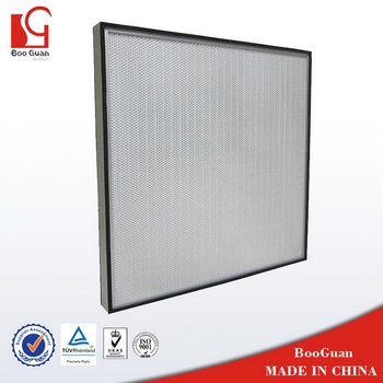 Cheap top sell hot selling separator type hepa filter