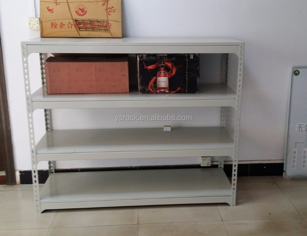 Widely Used Storage Slotted Boltless Angle Iron Racks,Customized