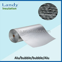 Single Bubble Foil Faced Wrap Fire Retardant Insulation Material for Ducts