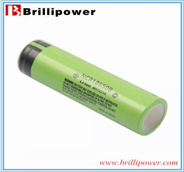 For Panasonic 3.7v li ion NCR18650B 3400mah 18650 battery in cheap price