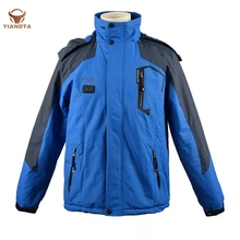 Free Shipping 3-in-1 Smart USB Heating Winter Outdoor Windproof Coat