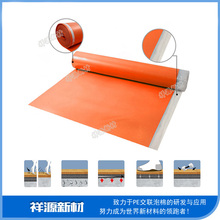 acoustic absorption ixpe foam underlayment for flooring