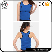 Wholesale custom made private label slimming waist shaper zipper waist training corsets