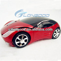 Click race Car Wireless computer Optical Mouse