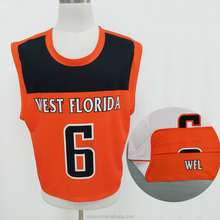 Sublimation Print Sports Basketball Team Wear Uniform with one number of each garment