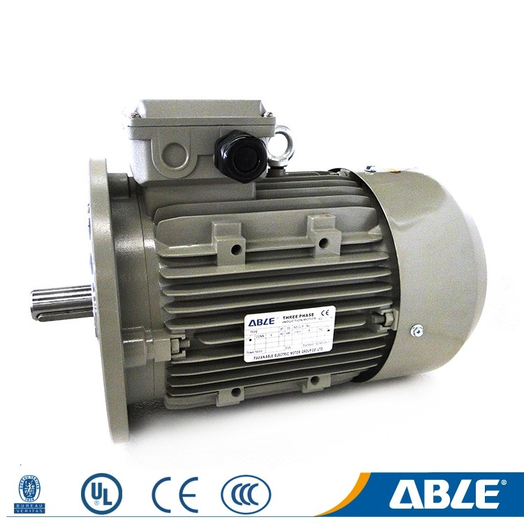 Ac ms series three phase heat resistant medium size 1.1kw 1.5hp electric motor