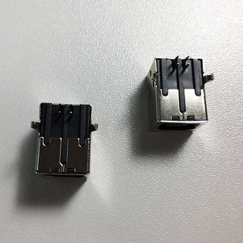 4 Position Through Hole, Right Angle USB Connector female