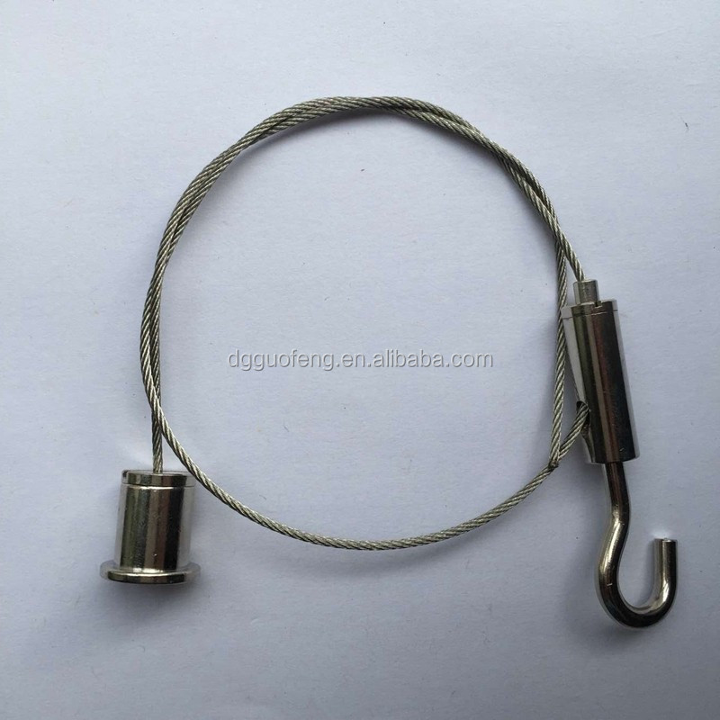 0.06'' stainless Wire rope hanger for lighting industry