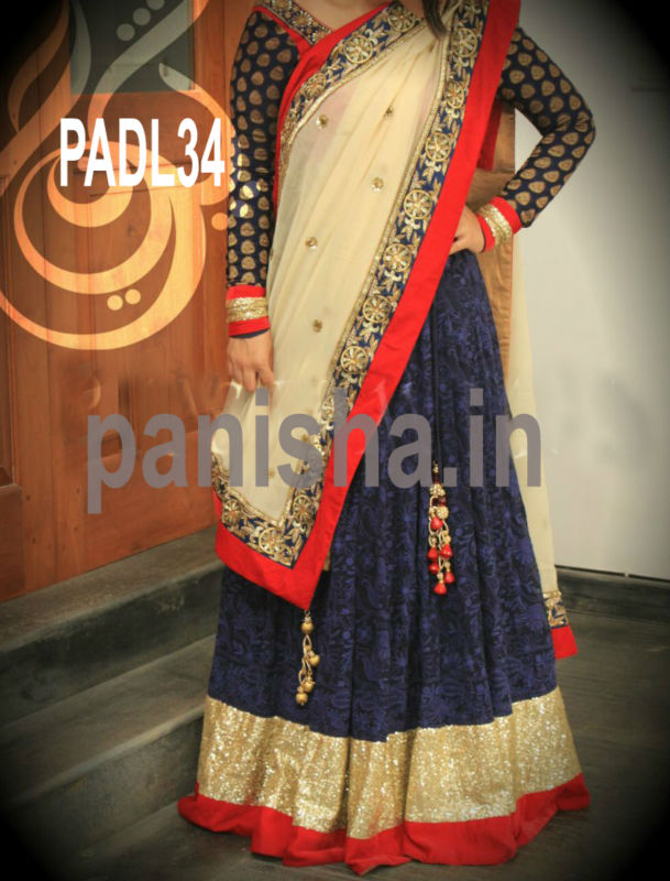 latest designer Indian wear lehenga suit.