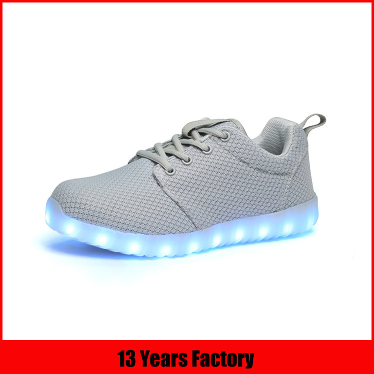 led light running shoes/rechargeable led shoes/simulation led shoes