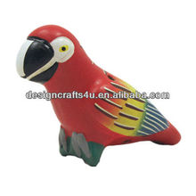 Red Bird Shaped Ceramic Whistle