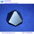 High performance of all sizes tungsten carbide cemcented 6-facet anvils from China