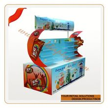 Hight quality products customize panadol baby medicine corrugated pallet display