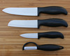 OL014-H ceramic knife set with injection handle Tech