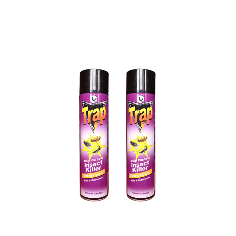 aerosol insecticide spray 600ml TRAP insect killer