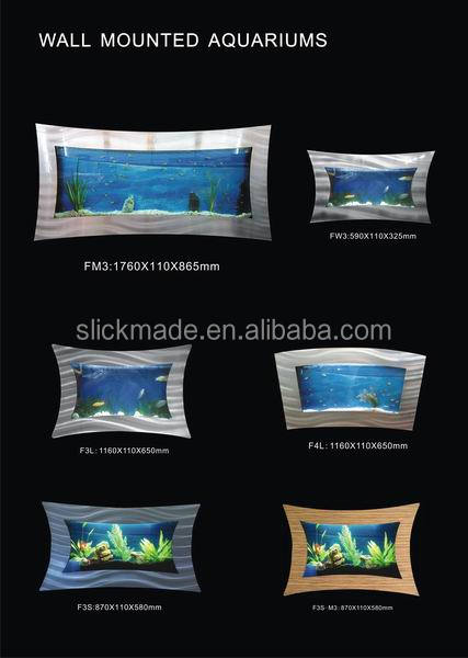 Fashionable style wall mounted aquariums fish tank  wandbehang-fish tank