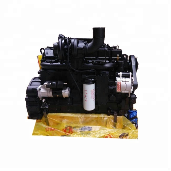 205HP water cooling Cummins 6BTAA5.9-C205 construction machine diesel <strong>engine</strong> for sale