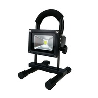 CE approved rechargeable 10W portable led floodlight camping light